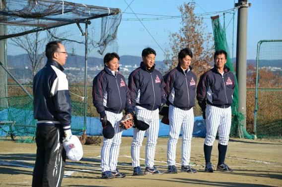 社会人野球教室